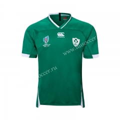 2019 World Cup Ireland Home Green Rugby Shirt