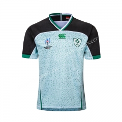 2019 World Cup Ireland Away Light Green Rugby Shirt