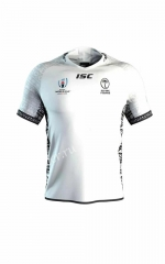 2019 World Cup  Fiji Home White Rugby Jersey