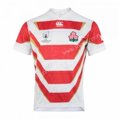 2019 World Cup Japan Red Stripe Rugby Shirt