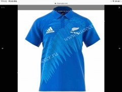 2019 World Cup New Zealand Blue Rugby Jersey