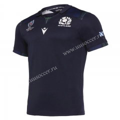 2019 World Cup Scotland Home Purple Rugby Jersey