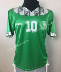 1994 Retro Version Nigeria Green Soccer Thailand jersey-403