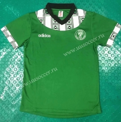 1994 Retro Version Nigeria Home Green Soccer Thailand jersey-803