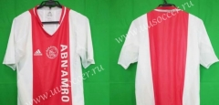 Retro Version 2004-2005  Ajax Home Red And White Thailand Soccer Jersey AAA-912