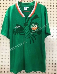 Retro Version 1994 Ireland Home Green Thailand Soccer Jersey AAA-811