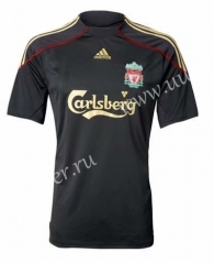 2009-2010 Liverpool Away Black Thailand Soccer Jersey AAA-510
