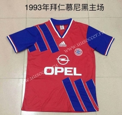 1993 Retro Version Bayern München Home Red Thailand Soccer Jersey AAA-DG