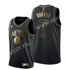 2019 NBA Brooklyn Nets Gold &Black #7 Jersey