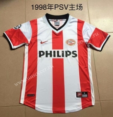 1998 Retro Version PSV Eindhoven Red & White Thailand Soccer Jersey AAA-AY