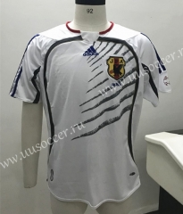 2006 Retro Version Japan Away White Thailand Soccer Jersey AAA-SL