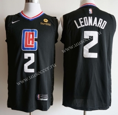 New Season NBA Los Angeles Clippers  Black #2 Jersey