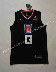 New Season NBA Los Angeles Clippers Black #13 Jersey