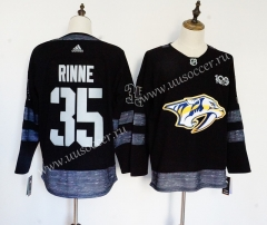 NHL Nashville Predators Black #35 Jersey