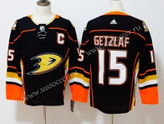 NHL Anaheim Ducks Black #15 Jersey