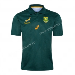 2019 World Cup South Africa Home Green T- shirt