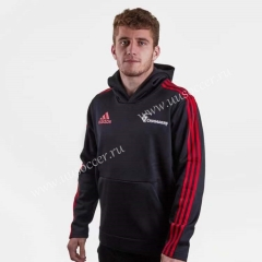 2019 Crusades  Black Rugby Jacket With Hat