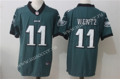 NFL Philadelphia Eagles Green #11 Jersey