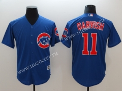 MLB Chicago Cubs  Blue #11  Jersey