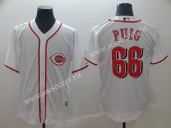 MLB Boston Red Sox White #66 Jersey