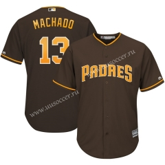 MLB San Diego Padres Brown #13 Jersey