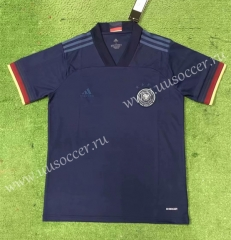 2020 European Cup Germany Away Blue Thiland Soccer Jersey-403