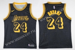 Lakers NBA Black #24 Jersey