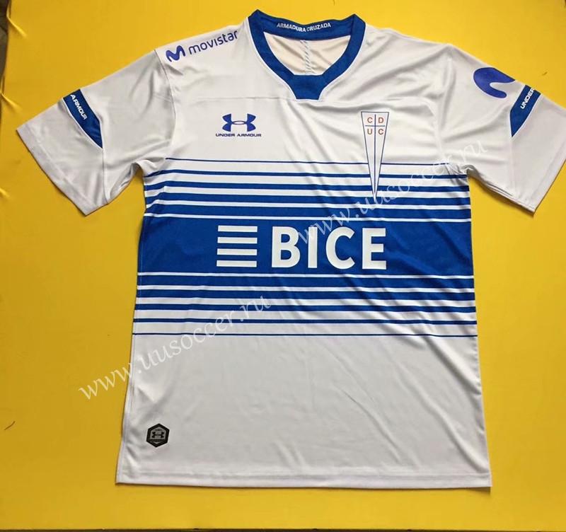 2020-2021 CD Universidad Católica Home White Thailand Soccer ...