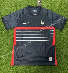 2020 European Cup France Home Blue Thailand Soccer Jersey AAA-407
