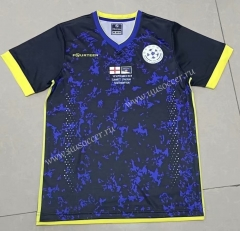 2020 European Cup Kosovo Home Blue Thiland Soccer Jersey