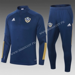 2020-2021 Los Angeles Galaxy Royal Blue Thailand Soccer Tracksuit Uniform-411