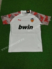2020 Valencia Home White Thailand Soccer Jersey AAA