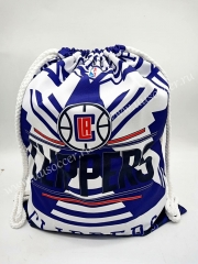 Los Angeles Clippers  Blue & White Basketball Bag