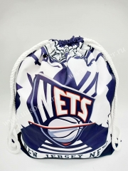 Brooklyn nets Blue & White Basketball Bag