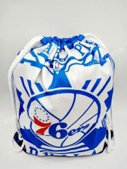 Philadelphia 76ers Blue & White Basketball Bag