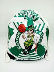 Boston Celtics Green & White Basketball  Bag