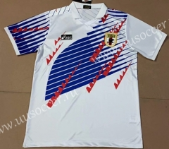 1994 Retro Version Japan Away White Thailand Soccer Jersey AAA