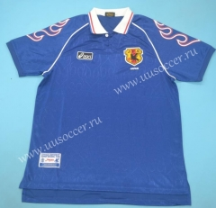 1998 Retro Version Japan Blue Thailand Soccer Jersey AAA