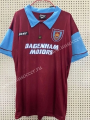 100th Commemorative Edition  West Ham United Dark Red Thailand Soccer Jersey AAA-811
