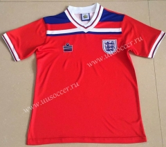 1980 Retro VersionEngland Away Red Thailand Soccer Jersey AAA-AY