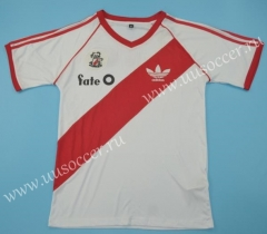 1986 Retro Version CA River Plate Home White Thailand Soccer Jersey AAA-510