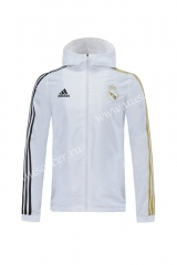 2020  Real Madrid  White Trench Coats With Hat