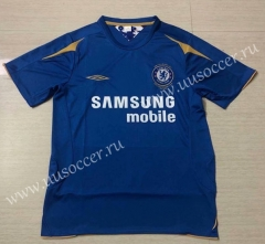 100th Commemorative Version Chelsea Blue Thailand Soccer Jersey AAA-503