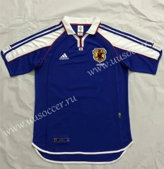 2000-2001 Retro Version Japan Blue Thailand Soccer Jersey AAA-510