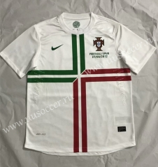 2012 Retro Version Portugal White Thailand Soccer Jersey AAA-510