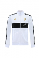 Player Version 2020-2021 Juventus FC White & Black Thailand Soccer Jacket -LH