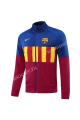 Player Version 2020-2021 Barcelona Maroon Thailand Soccer Jacket -LH