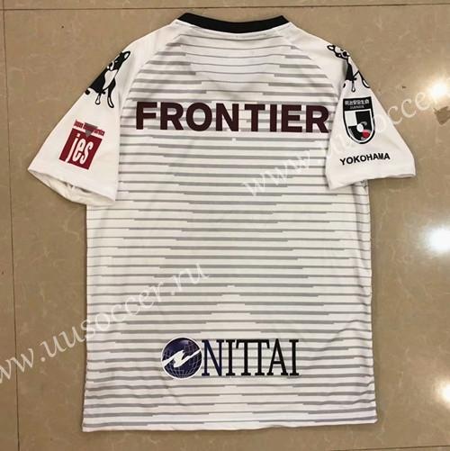 2020-2021 Yokohama FC White Thailand Soccer Jersey AAA-417,Yokohama FC