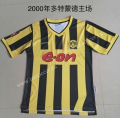 2000 Retro Version Borussia Dortmund Home Yellow Thailand Soccer Jersey AAA-AY