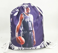 2020-2021 Brooklyn Nets Purple Basketball Bag